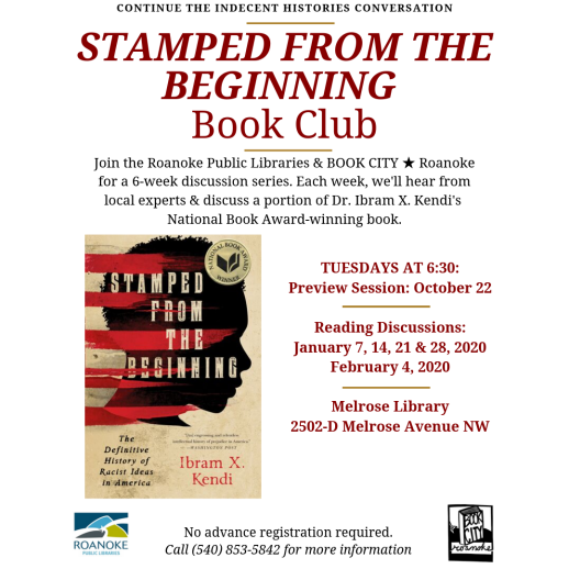 Stamped Book Club Resched